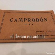 Postales: CAMPRODON. BLOC 12 POSTALS. MERCERIA I NOVETATS F. AULI. FALTAN 3 POSTALES. Lote 254939960