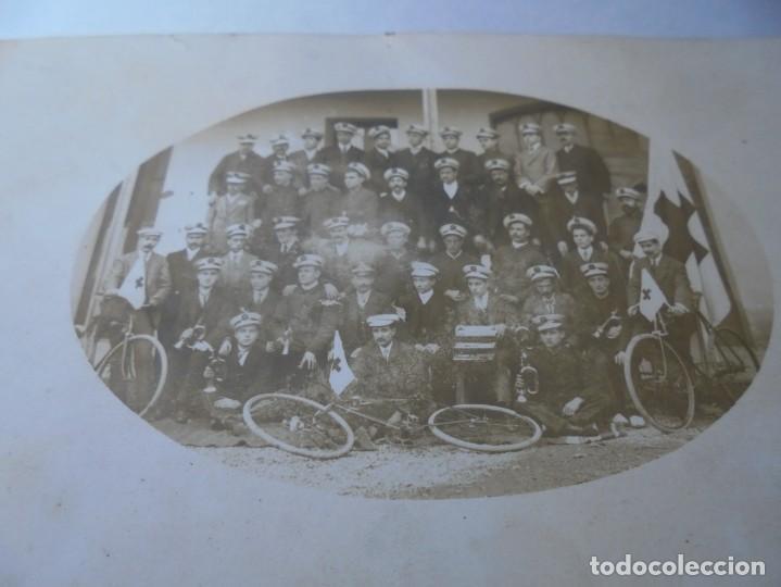 MAGNIFICA ANTIGUA POSTAL DE LA CRUZ ROJA ESPAÑOLA (Postales - España - Cataluña Antigua (hasta 1939))