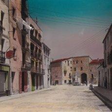 Postales: TARRAGONA, SANTA COLOMA DE QUERALT. ED. FOTO RAYMOND Nº 7. BYN COLOREADA. Lote 255001250