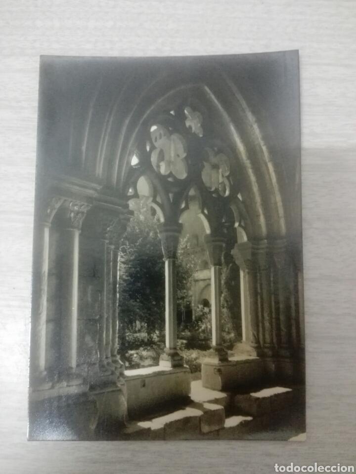 POSTAL REAL MONASTERIO DE POBLET (Postales - España - Cataluña Moderna (desde 1940))