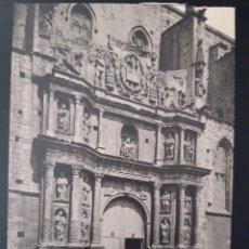 Postales: POSTAL DE. MONTBLANC. TARRAGONA. NUEVO FRONTAL DE SANTA MARIA HECHA EN 1668. Lote 255942390