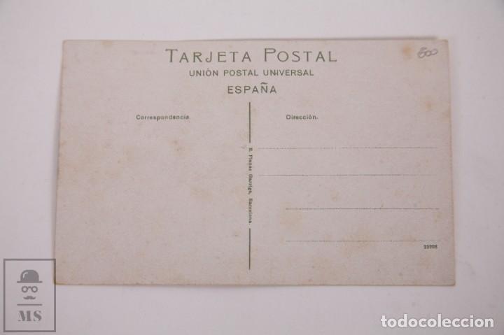 Postales: Antigua Postal Recuerdos de Barcelona - Sin Circular - Cartero 10 Vistas Desplegables - Foto 2 - 255993430