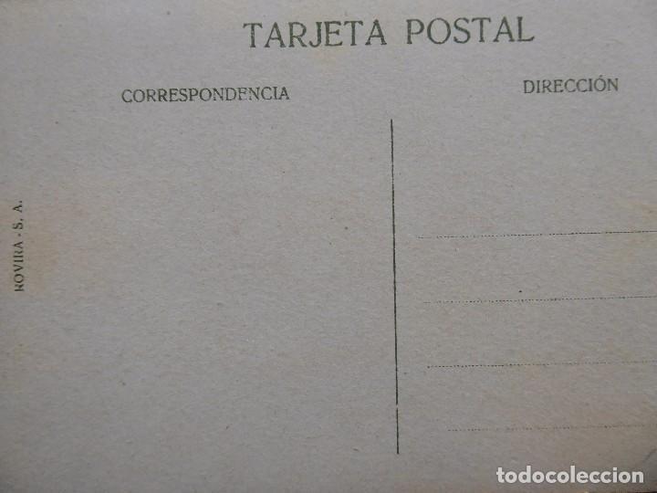 Postales: P-12684. BARCELONA. ESTACIÓN FUNICULAR DEL TIBIDABO. POSTAL R.S.A. COLOREADA. NO CIRCULADA. - Foto 3 - 256082510