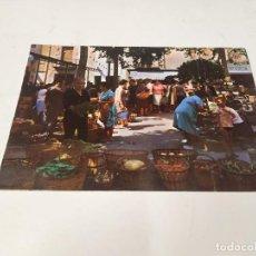 Cartoline: MARESME - POSTAL MALGRAT DE MAR - MERCADO TÍPICO. Lote 257280570