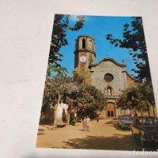 Cartoline: MARESME - POSTAL MALGRAT - DETALLE DE LA FACHADA DE LA IGLESIA. Lote 257283160