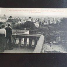 Postales: POSTAL SAN JOSE DE LA MONTAÑA BARCELONA. Lote 257315250