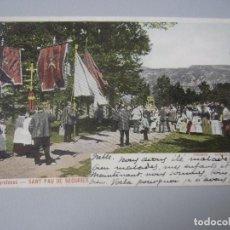 Cartoline: POSTAL SANT PAU DE SEGURIES ( GIRONA ) REVERSO SIN DIVIDIR. Lote 257420675
