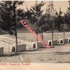 Postales: RIUDECANYES 4. PASSEIG DEL PANTANO. Lote 257514640