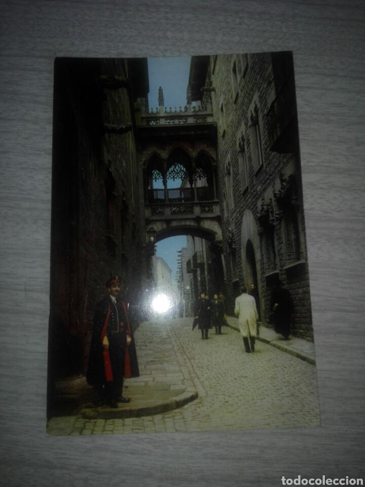 POSTAL BARCELONA 2038 CALLE DEL OBISPO IRURITA (Postales - España - Cataluña Moderna (desde 1940))