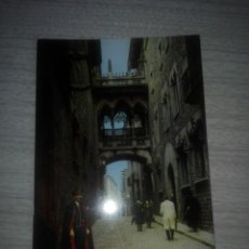 Postales: POSTAL BARCELONA 2038 CALLE DEL OBISPO IRURITA. Lote 257689015