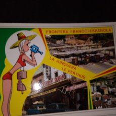 Postales: POSTAL * FRONTERA FRANCO-ESPAÑOLA *1967. Lote 296555088