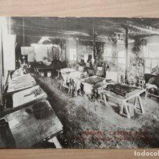 Postais: POSTAL REUS MADUELL Y ESTEVE - VISTA DE LA NAVE DE PINTAJE Y GRANEADO. 1929 ORIGINAL. Lote 258033415