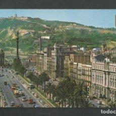 Cartes Postales: POSTAL SIN CIRCULAR BARCELONA 31 PASEO DE COLON EDITA ESCUDO DE ORO. Lote 259848900