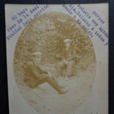 Postales: FOTO POSTAL DEL AÑO 1909, IMAGEN DE LA FUENTE DE STO. DOMINGO CERCA DE CALDETES (CALDES D'ESTRAC). Lote 260025900