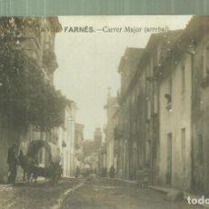 Postales: C3.- SANTA COLOMA DE FARNES - CARRER MAJOR - ARREBAL - POSTAL FOTOGRAFICA. Lote 260575140