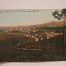 Postales: SANT VICENÇ DELS HORTS - VISTA PARCIAL J.B.1 - P50661. Lote 261145140