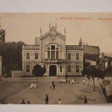Postales: EL PRAT DE LLOBREGAT - CASA CONSISTORIAL - P50665. Lote 261145490