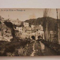Postales: LA RIBA - PAISATGE / PAISAJE - J.B. 6 - P50684. Lote 261146420