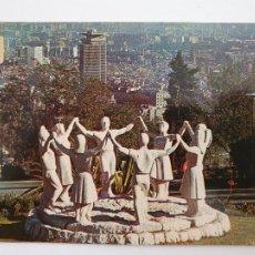 Postales: BARCELONA - MONUMENT A LA SARDANA - P50987. Lote 261585940