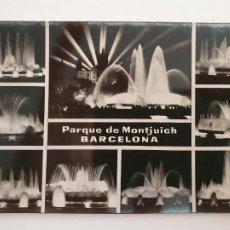 Postales: BARCELONA - MONTJUIC - FONTS / FUENTES - P50989. Lote 261586210