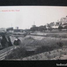 Postales: MOLINS DE REI-TUNEL FERROCARRIL-THOMAS-11-POSTAL ANTIGUA-(80.333). Lote 261612600