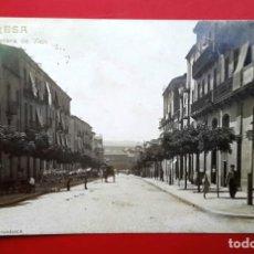 Postales: MANRESA - CARRETERA DE VICH - POSTAL FOTOGRÁFICA - LB. Lote 261621005