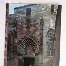 Postales: BARCELONA - CATEDRAL PORTA DE LA PIETAT / PUERTA DE LA PIEDAD - P51068. Lote 261627200