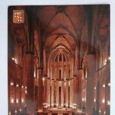 Postales: BARCELONA - BASÍLICA DE SANTA MARIA DEL MAR - P51069. Lote 261627255