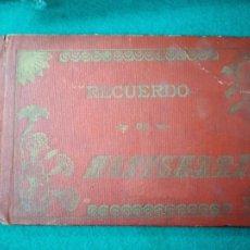 Postales: RECUERDO DE MONTSERRAT NUEVO ALBUM DE 32 VISTAS DE LA HISTORICA MONTAÑA. IMP. VIÑALS HNOS. MANRESA.. Lote 261697460