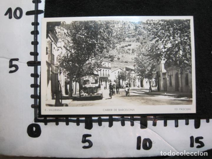 Postales: VALLIRANA-CARRER DE BARCELONA-FOTOGRAFICA ED·PASCUAL-5-POSTAL ANTIGUA-(80.376) - Foto 4 - 262277805