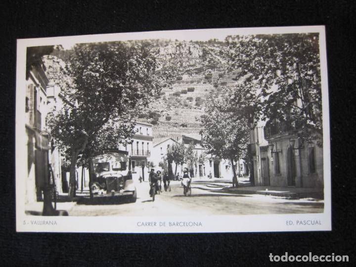VALLIRANA-CARRER DE BARCELONA-FOTOGRAFICA ED·PASCUAL-5-POSTAL ANTIGUA-(80.376) (Postales - España - Cataluña Antigua (hasta 1939))
