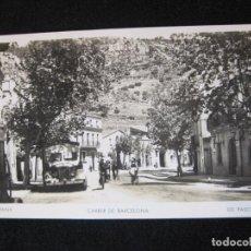 Postales: VALLIRANA-CARRER DE BARCELONA-FOTOGRAFICA ED·PASCUAL-5-POSTAL ANTIGUA-(80.376). Lote 262277805