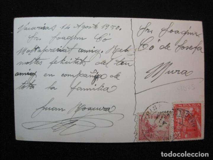 Postales: VACARISAS-CALLE MONTSERRAT-FOTOGRAFICA-POSTAL ANTIGUA-(80.380) - Foto 3 - 262278890