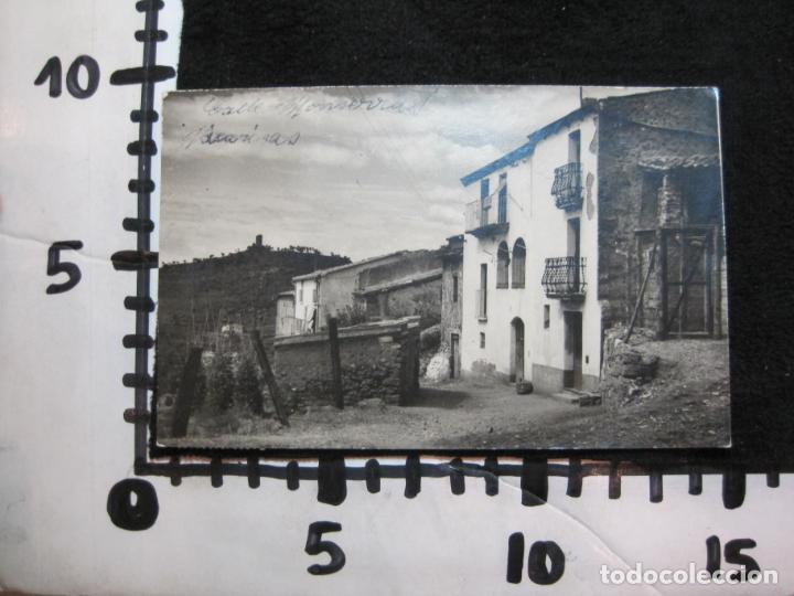 Postales: VACARISAS-CALLE MONTSERRAT-FOTOGRAFICA-POSTAL ANTIGUA-(80.380) - Foto 4 - 262278890
