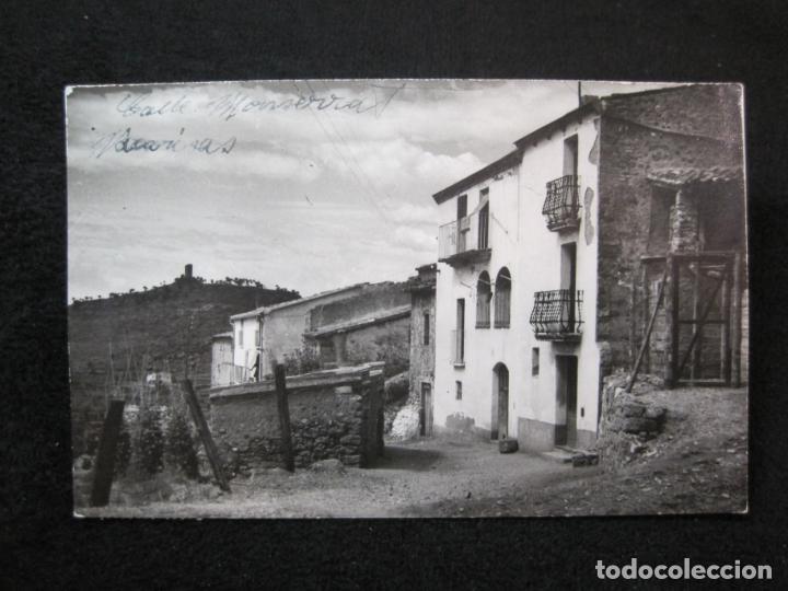 VACARISAS-CALLE MONTSERRAT-FOTOGRAFICA-POSTAL ANTIGUA-(80.380) (Postales - España - Cataluña Antigua (hasta 1939))