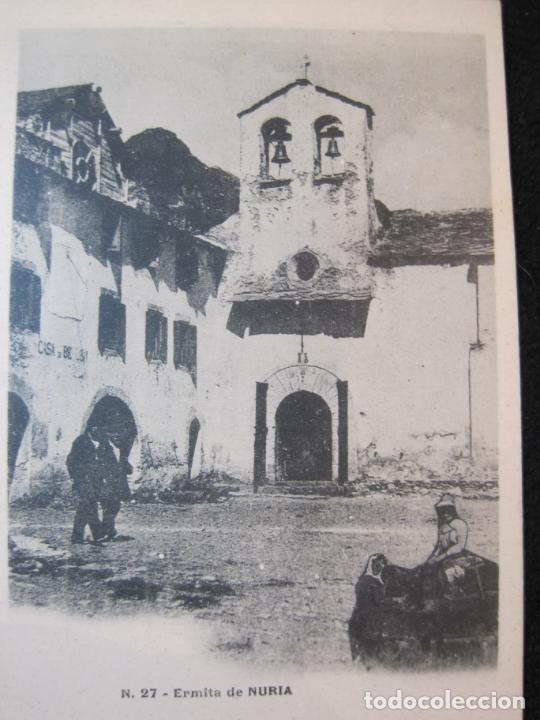 Postales: NURIA-ERMITA-27-VENANCIO PONS-REVERSO SIN DIVIDIR-POSTAL ANTIGUA-(80.384) - Foto 2 - 262280415