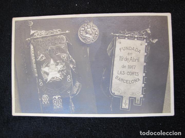 Postales: CATALUNYA-AGRUPACION CORAL INTERNACIONAL-FUNDADA EN LAS CORTS-FOTOGRAFICA-POSTAL ANTIGUA-(80.390) - Foto 2 - 262282235