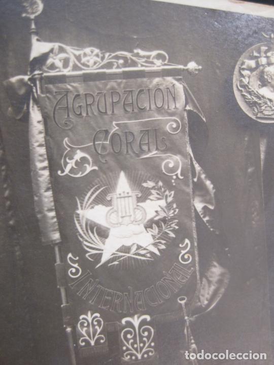 Postales: CATALUNYA-AGRUPACION CORAL INTERNACIONAL-FUNDADA EN LAS CORTS-FOTOGRAFICA-POSTAL ANTIGUA-(80.390) - Foto 3 - 262282235