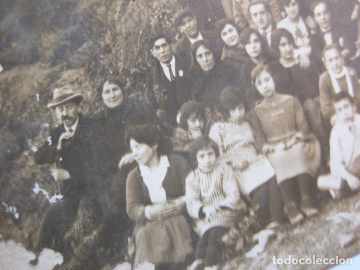 Postales: HORTA (BARCELONA)-GRUP EXCURSIONISTA-FOTOGRAFICA-POSTAL ANTIGA-(80.432) - Foto 3 - 262297495