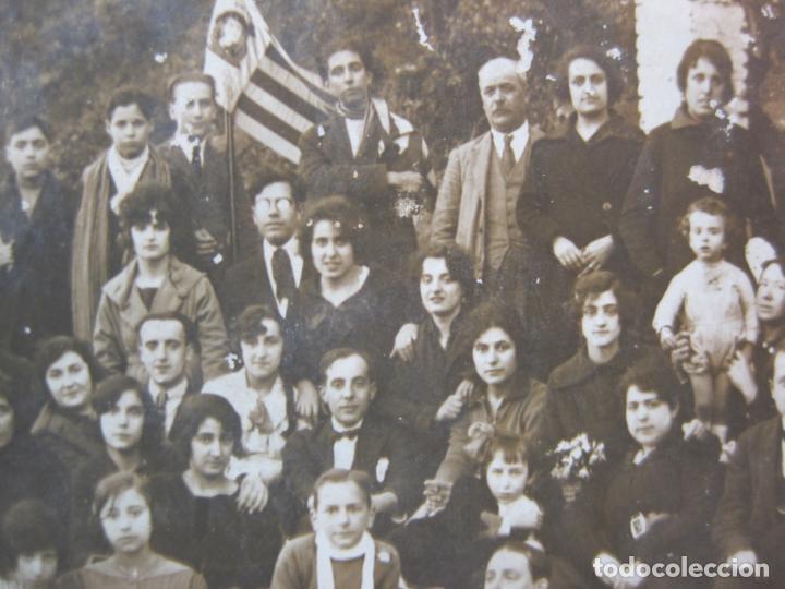 Postales: HORTA (BARCELONA)-GRUP EXCURSIONISTA-FOTOGRAFICA-POSTAL ANTIGA-(80.432) - Foto 4 - 262297495