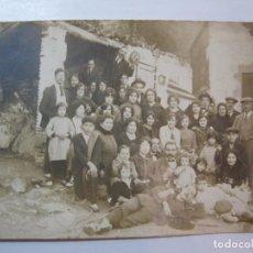 Postales: HORTA (BARCELONA)-GRUP EXCURSIONISTA-FOTOGRAFICA-POSTAL ANTIGA-(80.433). Lote 262297595