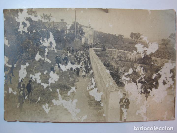 Postales: VALLDOREIX-PROCESION-FOTOGRAFICA-POSTAL ANTIGA-(80.435) - Foto 2 - 262297965