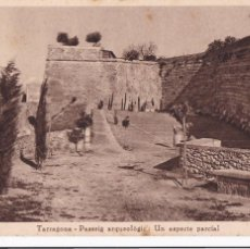 Postales: TARRAGONA PASSEIG ARQUEOLOGIC. ED. TAU, HUECOGRABADO MUMBRU. SIN CIRCULAR. Lote 262621375