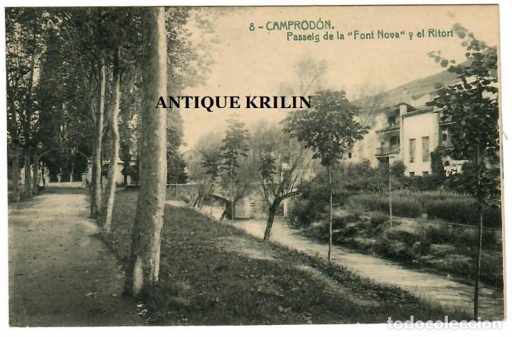 CAMPRODON Nº 8 PASSEIG DE LA FONT NOVA I EL RITORT / THOMAS (Postales - España - Cataluña Antigua (hasta 1939))
