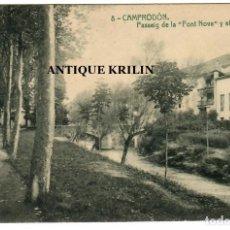 Postales: CAMPRODON Nº 8 PASSEIG DE LA FONT NOVA I EL RITORT / THOMAS. Lote 262870335