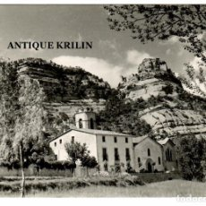 Postales: SANT MARTI DE CENTELLES / PARRÒQUIA I CASTELL. Lote 262873300