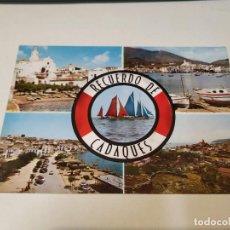 Postales: ALT EMPORDÀ - POSTAL CADAQUÉS - RECUERDO. Lote 262880715