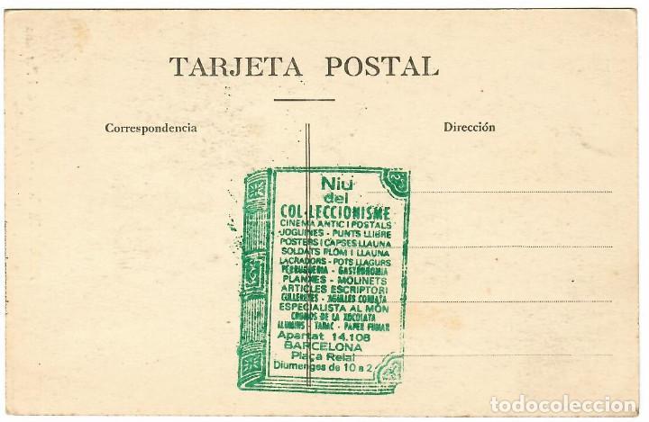 Postales: BARCELONA Nº 79 PARQUE GÜELL PORTICOS / FOTO L. ROISIN - Foto 2 - 262905340