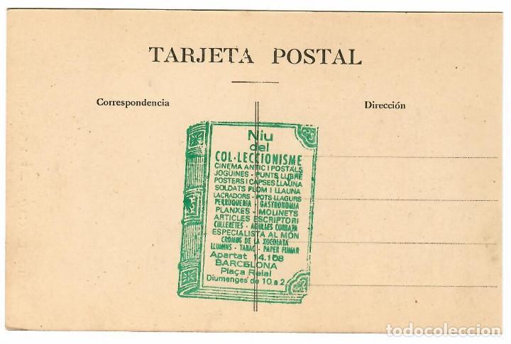 Postales: BARCELONA Nº 110 PARK GÜELL , PORTICOS / FOTO L. ROISIN - Foto 2 - 262906665