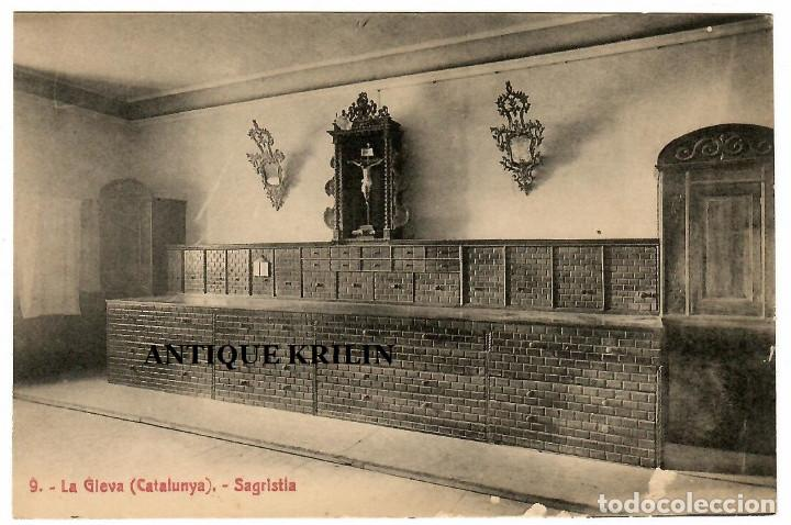 LA GLEVA Nº 9 / SAGRISTIA / EDICIO A.T.V. (Postales - España - Cataluña Antigua (hasta 1939))